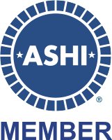 A member of the American Society of Home Inspectors (ASHI).