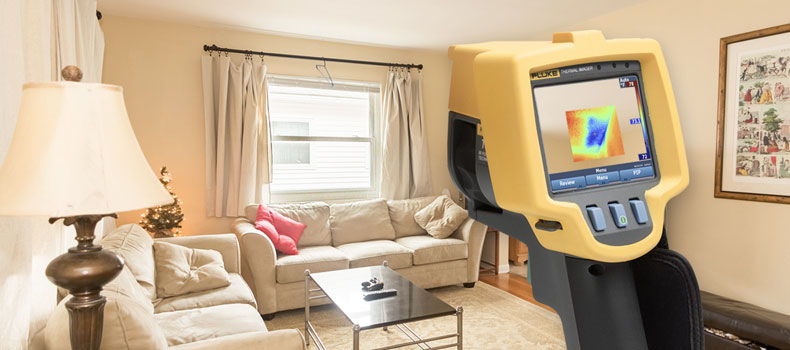 Get a thermal (infrared) home inspection from SureView Home Inspections