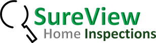 The SureView Home Inspections logo
